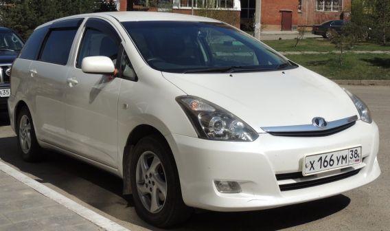 Toyota Wish 2006 - отзыв владельца