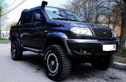 УАЗ Патриот Пикап 2013 - отзыв владельца