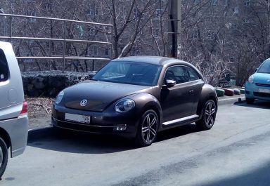 Volkswagen Beetle 2014 отзыв автора | Дата публикации 27.01.2015.