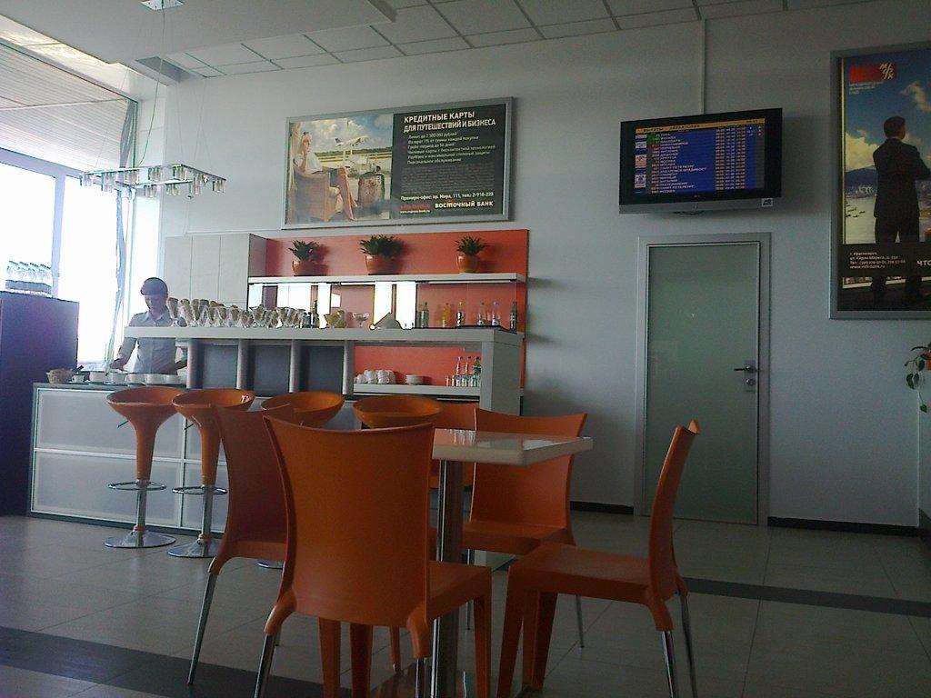 Бизнес-зал аэропорта Емельяново