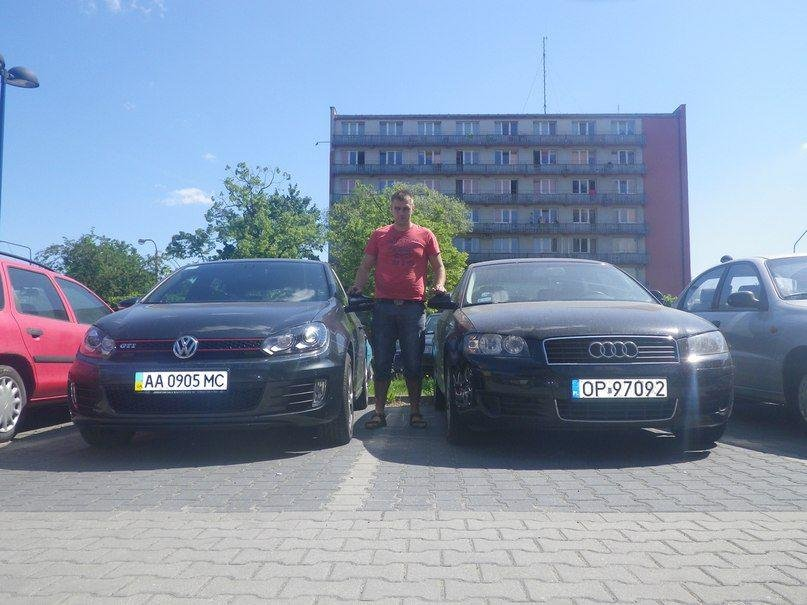 VW GTI 2012 и Ауди А3 2,0 ТДИ 2003 г