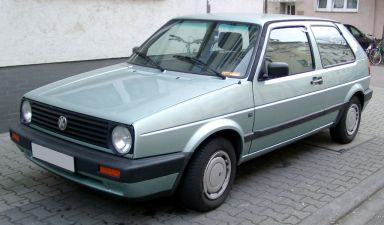 Volkswagen Golf, 1990