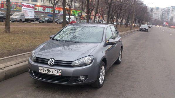 Volkswagen Golf 2010 - отзыв владельца