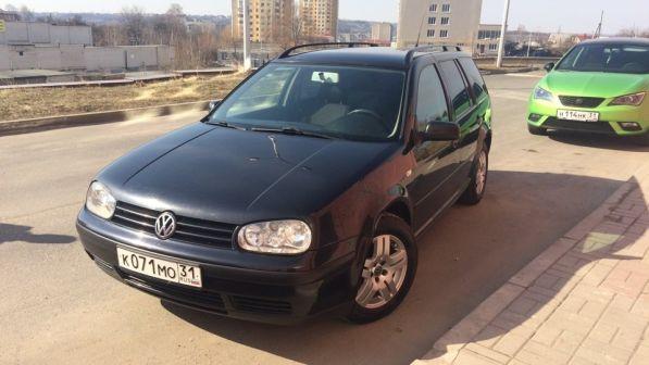 Volkswagen Golf 2002 - отзыв владельца