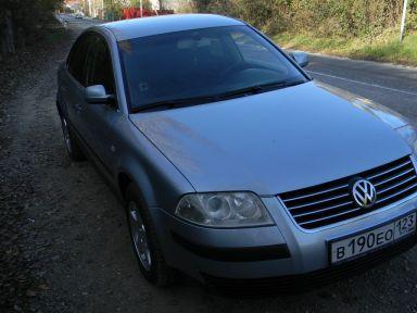 Volkswagen Passat 2002 отзыв автора | Дата публикации 11.10.2013.