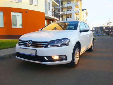 Volkswagen Passat 2012 - отзыв владельца