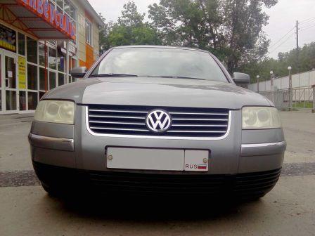 Volkswagen Passat 2002 - отзыв владельца