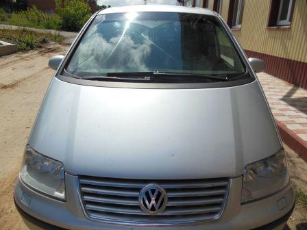 Volkswagen Sharan 2005 - отзыв владельца