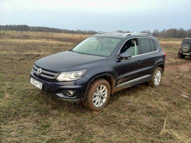 Volkswagen Tiguan 2013 отзыв автора | Дата публикации 17.04.2014.