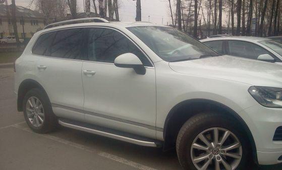 Volkswagen Touareg 2013 - отзыв владельца
