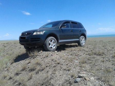 Volkswagen Touareg 2004 - отзыв владельца