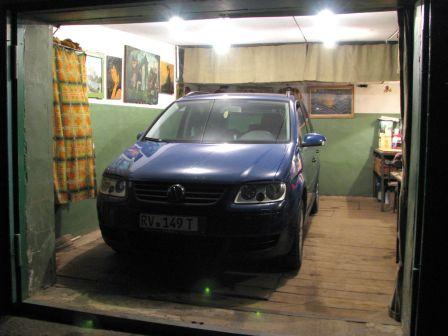Volkswagen Touran 2005 - отзыв владельца