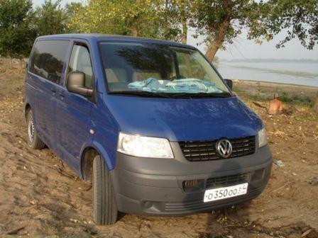 Volkswagen Transporter 2008 - отзыв владельца