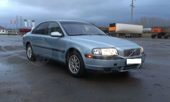 Volvo S80 2001 - отзыв владельца