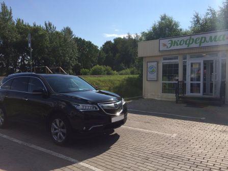 Acura MDX 2015 - отзыв владельца