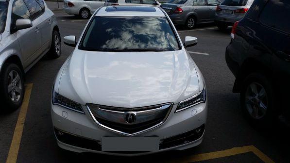 Acura TLX 2015 - отзыв владельца
