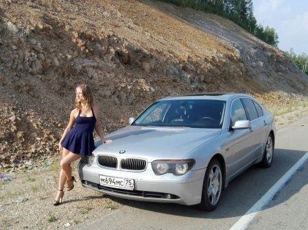 BMW 7-Series 2002 - отзыв владельца