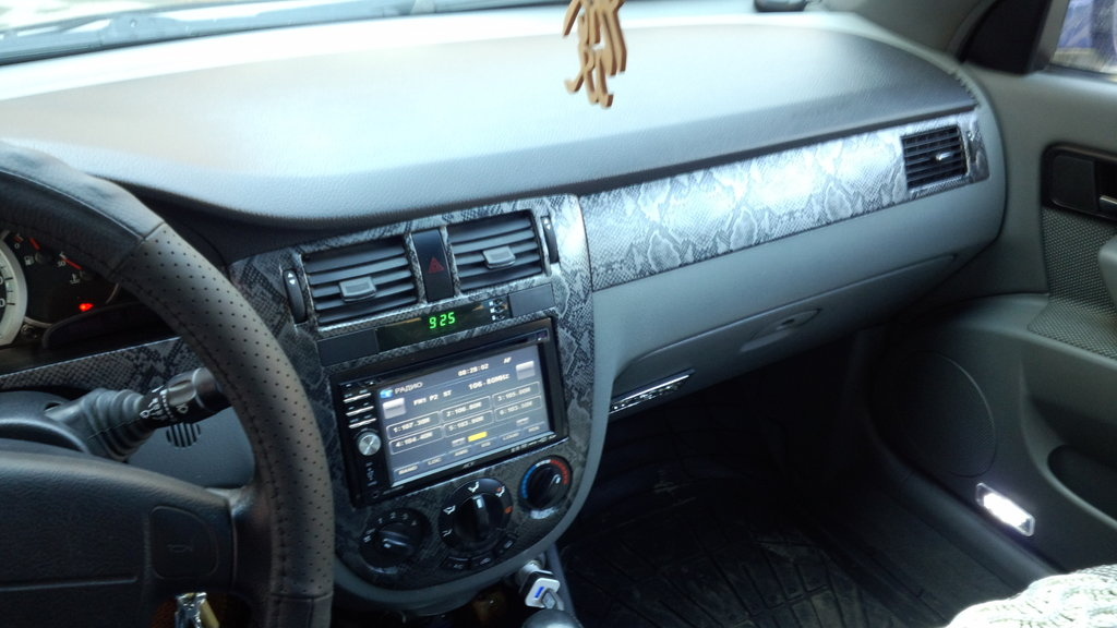 chevrolet lacetti тюнинг салона фото