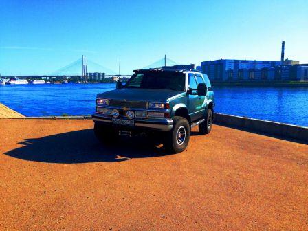 Chevrolet Tahoe 1995 - отзыв владельца