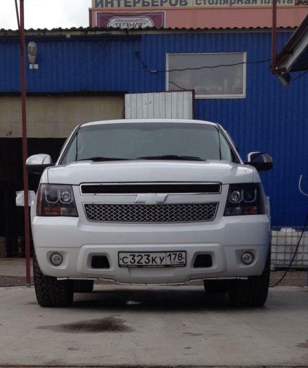 Chevrolet Tahoe 2011 - отзыв владельца