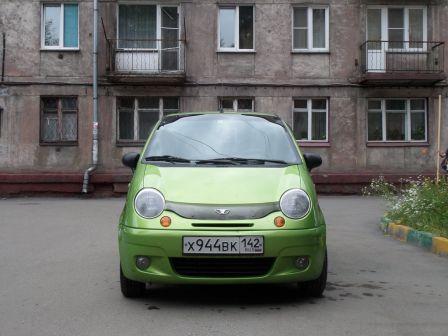 Daewoo Matiz 2006 - отзыв владельца