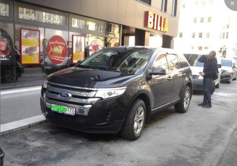 Ford Edge 2014 - отзыв владельца