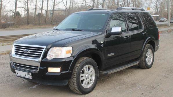 Ford Explorer 2008 - отзыв владельца