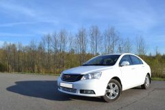 Geely Emgrand EC7, 2012