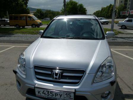 Honda CR-V 2006 - отзыв владельца