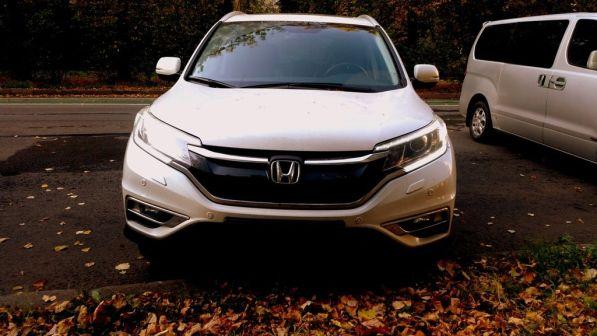Honda CR-V 2015 - отзыв владельца