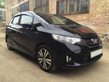 Honda Fit 2014 - отзыв владельца