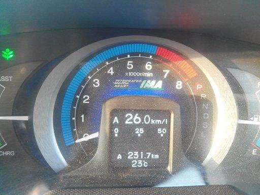 Расход по трассе при средней скорости 90-100 км./ч.