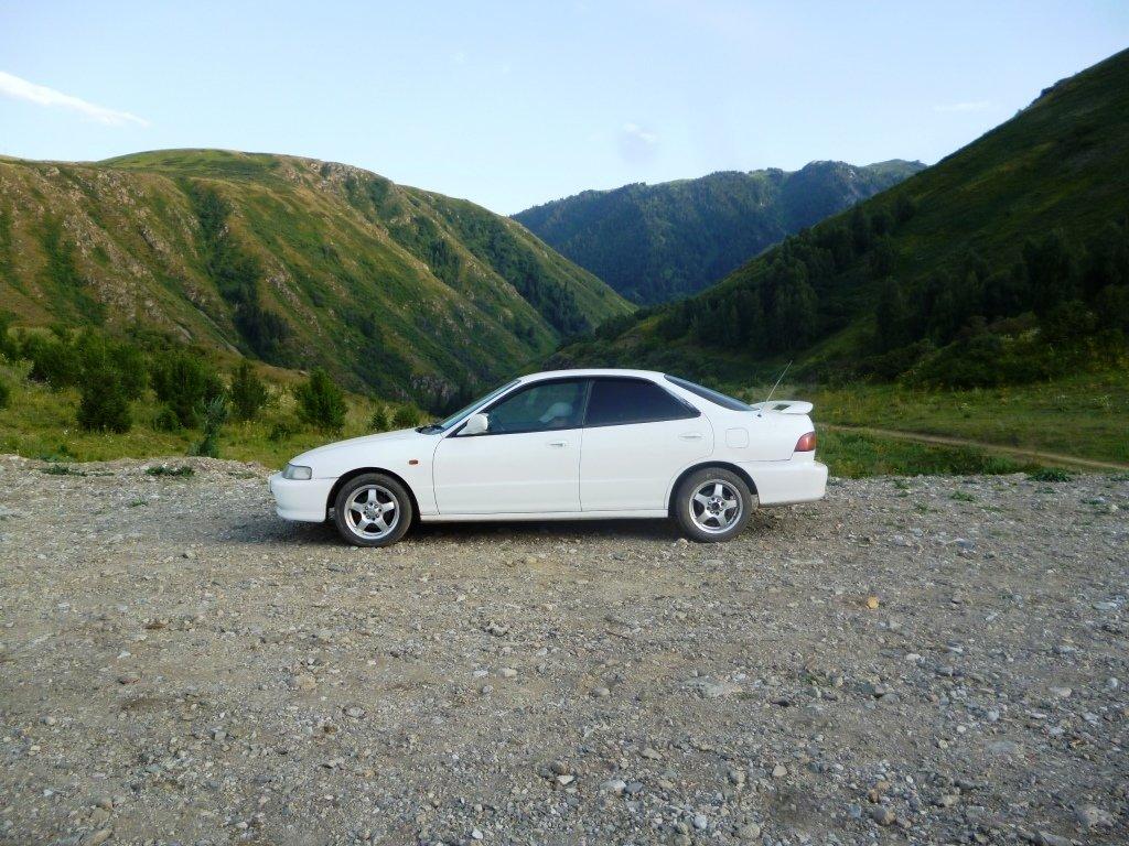 В горах, Солдатское ущелье. Текели.