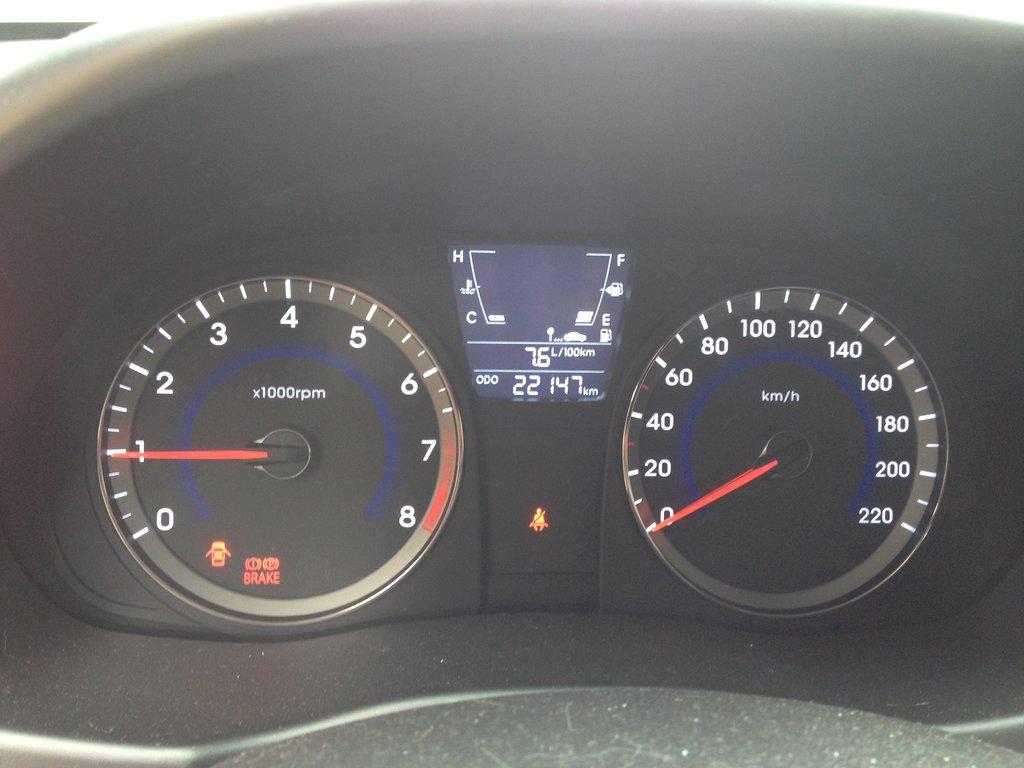 Расход топлива в смешанном цикле/ общий пробег авто