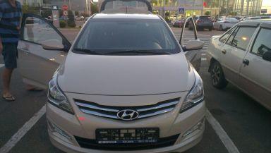 Hyundai Solaris 2015 отзыв автора | Дата публикации 26.08.2015.