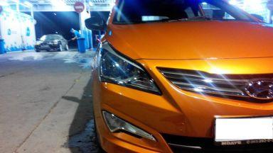 Hyundai Solaris 2015 отзыв автора | Дата публикации 04.09.2015.