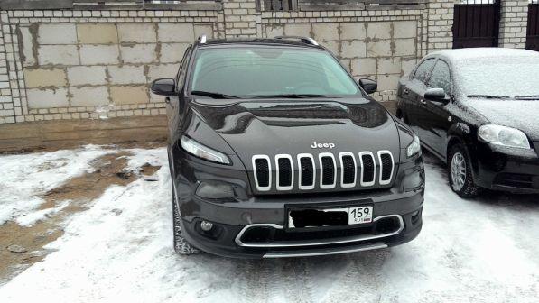 Jeep Cherokee 2014 - отзыв владельца