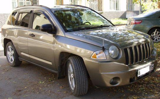 Jeep Compass 2006 - отзыв владельца