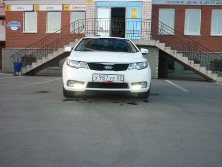 Kia Cerato 2012 - отзыв владельца