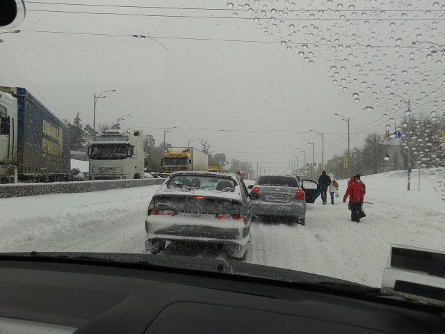 Зима 2013. Киев