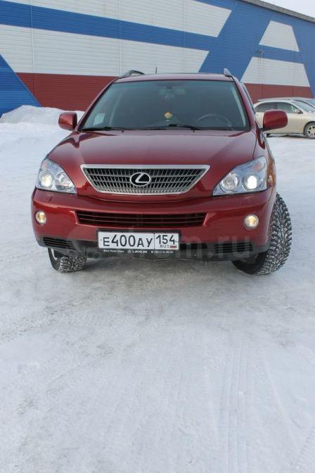 Lexus RX400h 2007 - отзыв владельца