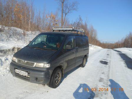 Mazda Bongo Friendee 1998 - отзыв владельца