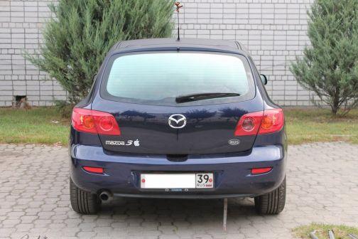 Mazda Mazda3 2003 - отзыв владельца