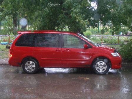 Mazda MPV 2003 - отзыв владельца