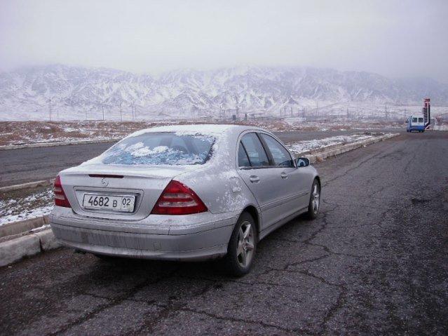 заснеженные горы, Таджикистан
