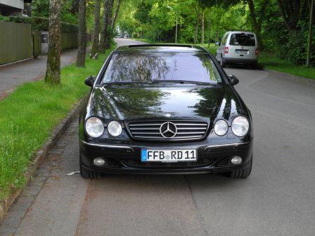 Mercedes-Benz CL-Class 2003 - отзыв владельца
