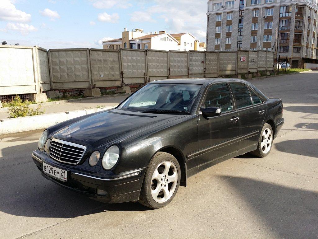 Mercedes benz e class 2001 3 2 for 2001 mercedes benz e320 review