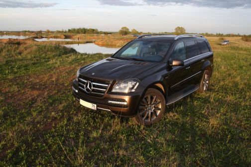 Mercedes-Benz GL-Class 2012 - отзыв владельца