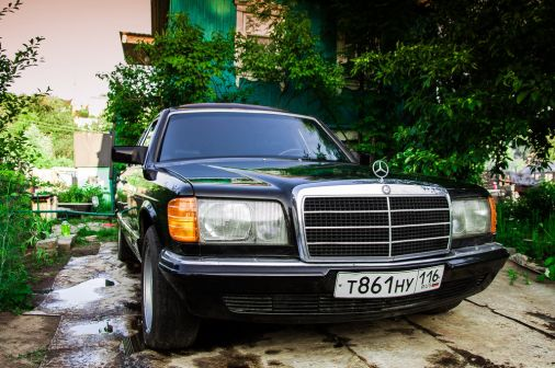 Mercedes-Benz S-Class 1983 - отзыв владельца