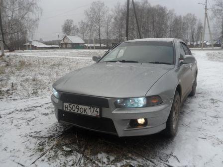 Mitsubishi Galant 1998 - отзыв владельца